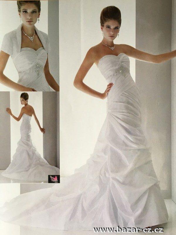 740f92cf8885 Luxusní svatební šaty model Myra