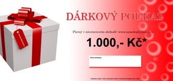 Sout o drkov poukaz v hodnot 1000K na nkup samolepek na ze
